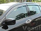 Vesul Side Window Visor Vent Rain Guard Shield Wind Deflectors Sun Shade Compatible with Honda Accord 2018 2019