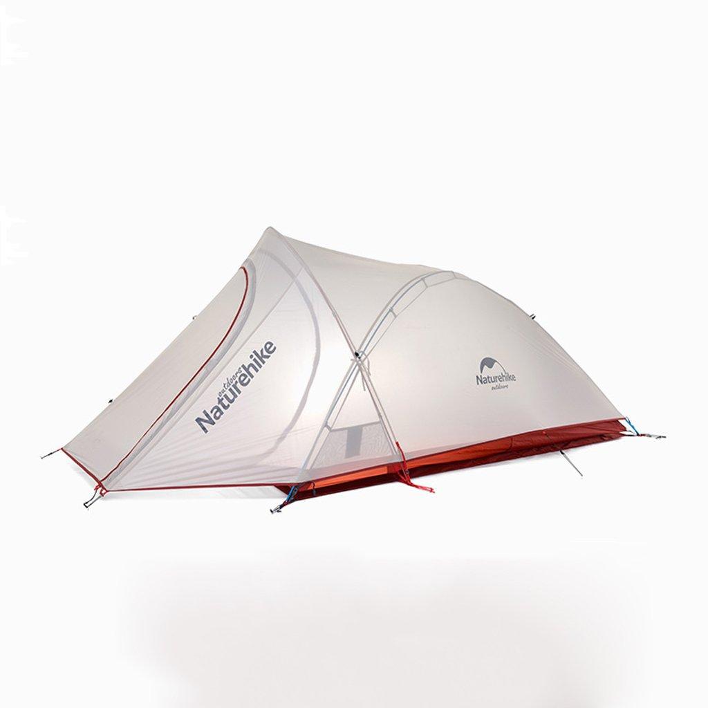PIGE 2 Personen Zelt Outdoor Kletterfeld Camping Ultra-Light Aluminium Ruten Zelte Wasserdicht