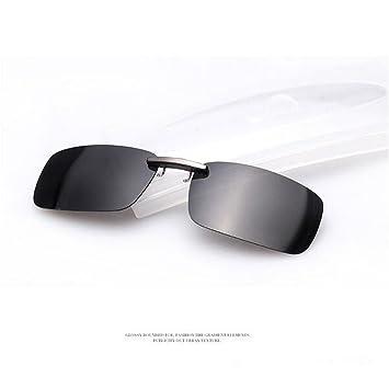 Zimo Lentes de Gafas de Sol Polarizadas, con Clip Unisex, Accesorio para Gafas UV400