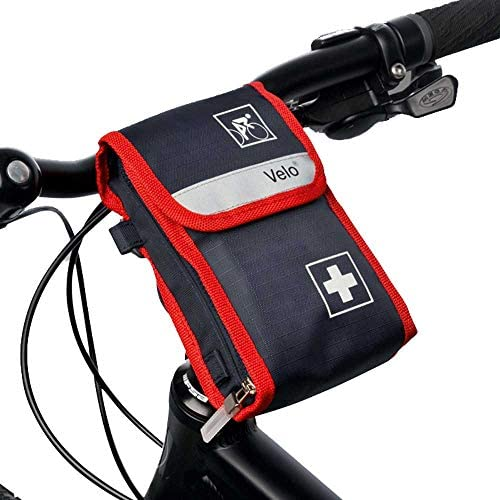 Holthaus Medical VELO® Fahrradverbandtasche Erste-Hilfe Tasche Verbandstasche, befüllt