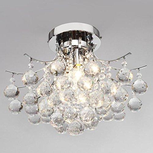 Vivreal® Crystal Chandelier with 3 lights Ceiling Light Pendant ...