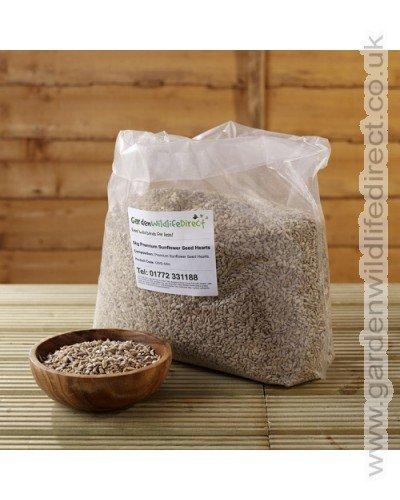 20kg Premium Sunflower Hearts Garden Wildlife Direct GW-20-9044