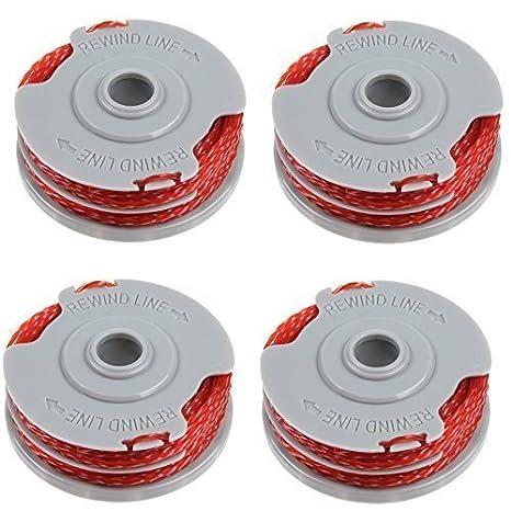 XT DX CONTOUR 250D ST PLUS 3 x Spool /& Line Fits FLYMO MINITRIM AUTO 2003