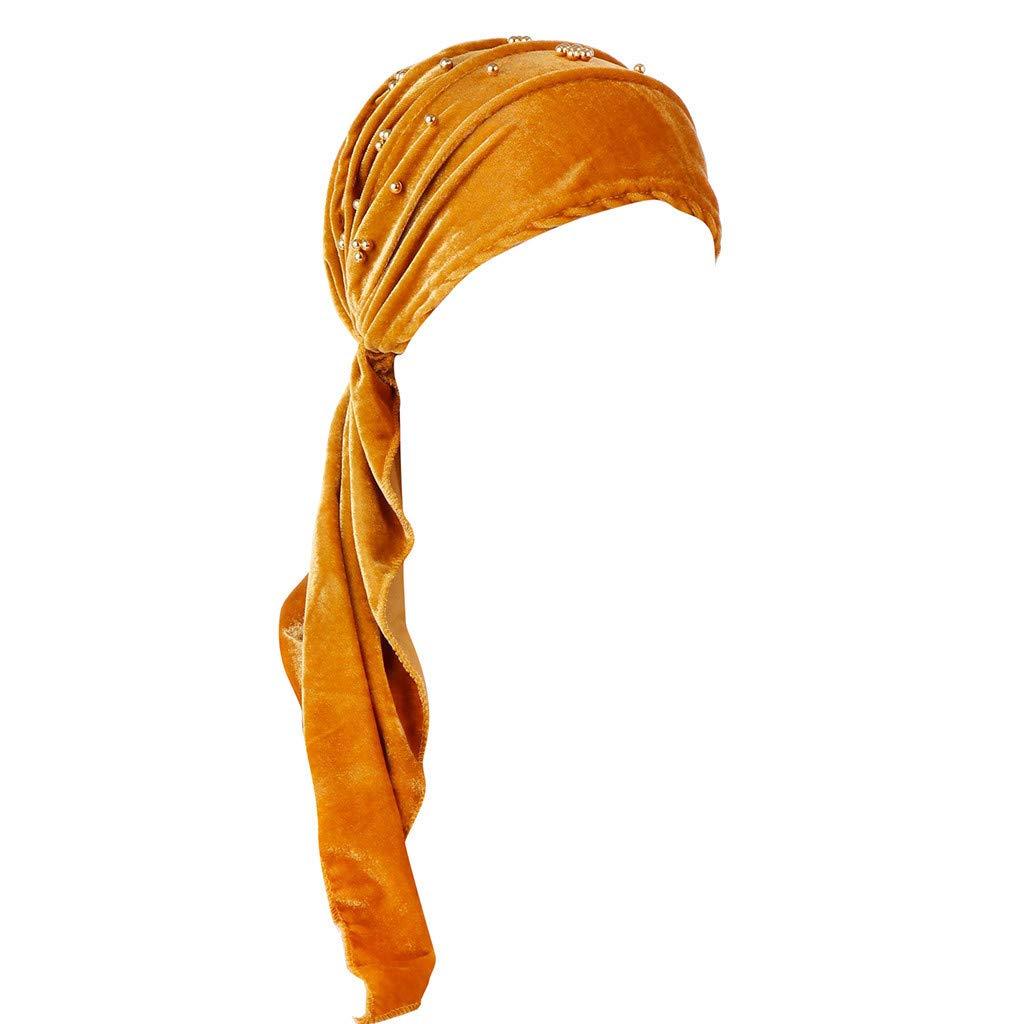 Tleegu Kopftuch Damen Muslimisch Kopft/ücher Chemo Sommer Kopfbedeckung Hijab Drucken Turban Multipurpose Schnell Trocknend in vielen Farbe