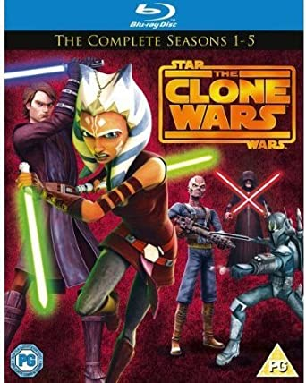 Amazon com: Star Wars Clone Wars - Season 1-5 [Blu-ray