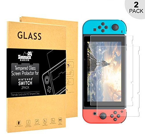 zonmack-gaming-tempered-glass-nintendo-switch-screen-protector-ultra-thin-hd-clear-view-anti-fingerp