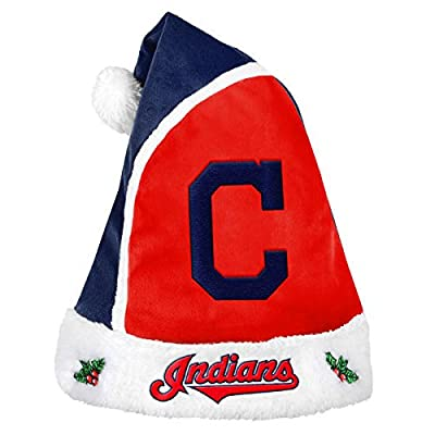 Forever Collectibles - MLB 2015 Santa Hat, Cleveland Indians