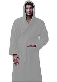 f69d17d9c9 TowelRobes Velour Hooded Bathrobes for Women and Men Hooded Velour ...