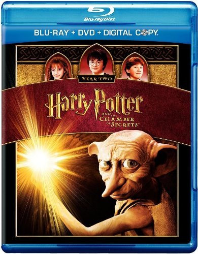 Harry Potter and the Chamber of Secrets Blu-ray DVD Digital Copy ...