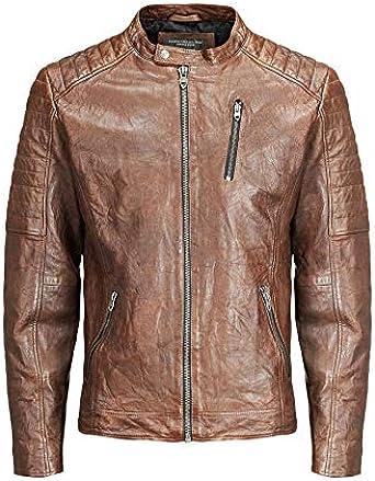 Jack & Jones Jjvrichard Lamb Leather Jacket Noos Chaqueta para ...