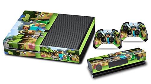 (EBTY-Dreams Inc. - Microsoft Xbox One - Mine Video Game Vinyl Skin Sticker Decal Protector)