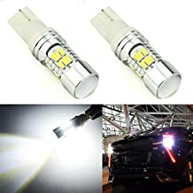JDM ASTAR Super Bright 30-EX Chipsets 921 912 LED Bulbs with Projector For Backup Reverse Lights, Xenon White