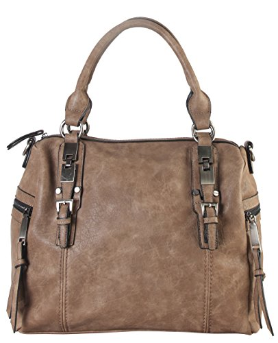 diophy-double-side-pockets-casual-tote-with-removable-long-strap-cz-3722-khaki