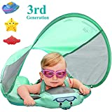 Upgrade 3rd Generation Baby Infant Soft Solid Non-Inflatable Float Lying Swimming Ring Children