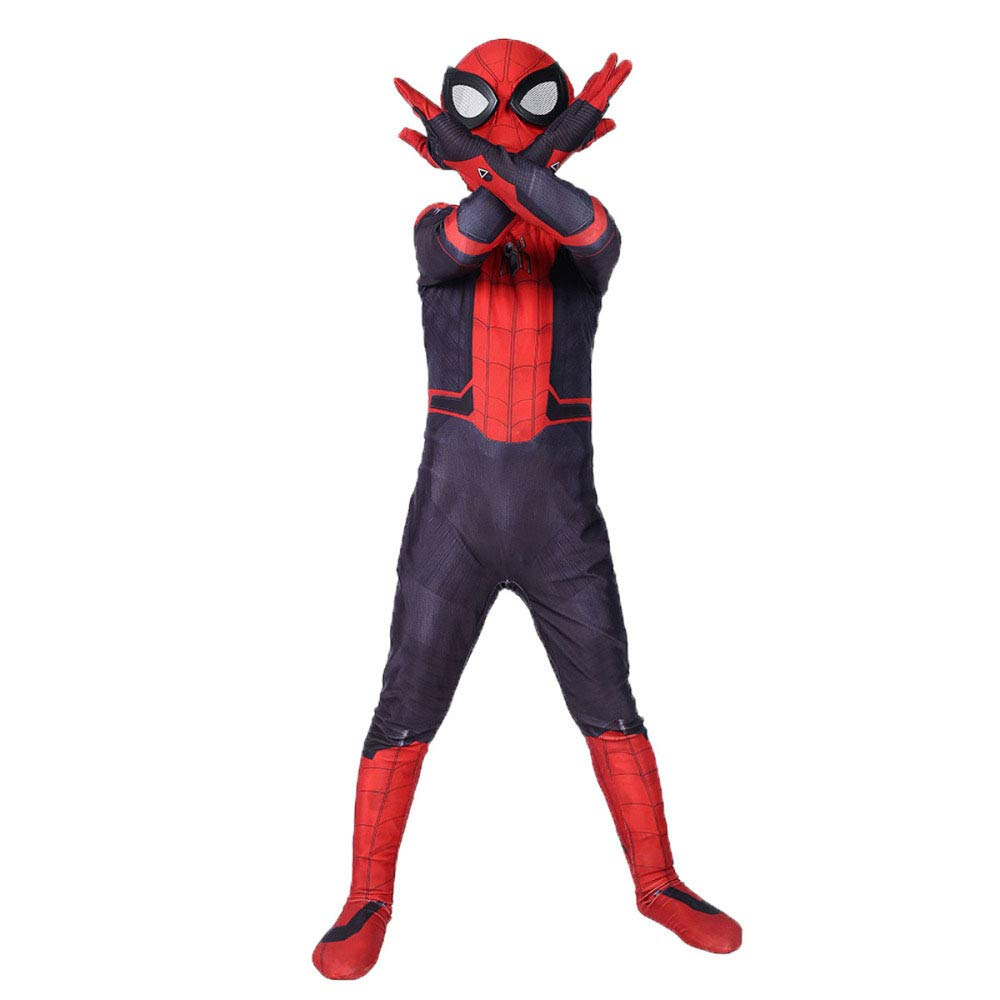 SDFGXCV Disfraz Niño Spiderman, Carnaval Superhéroe Traje ...