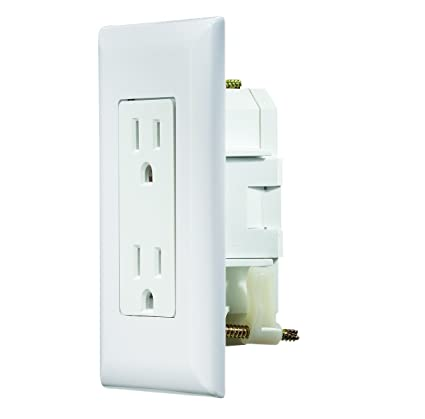 Rv Electrical Outlet >> Amazon Com Rv Designer S811 Self Contained Dual Outlet With Cover