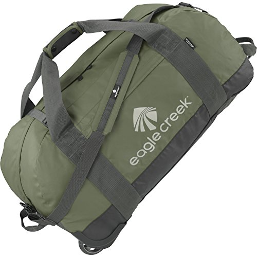 Eagle Creek No Matter What Large Rolling Duffle Bag One Size Olive by Eagle Creek