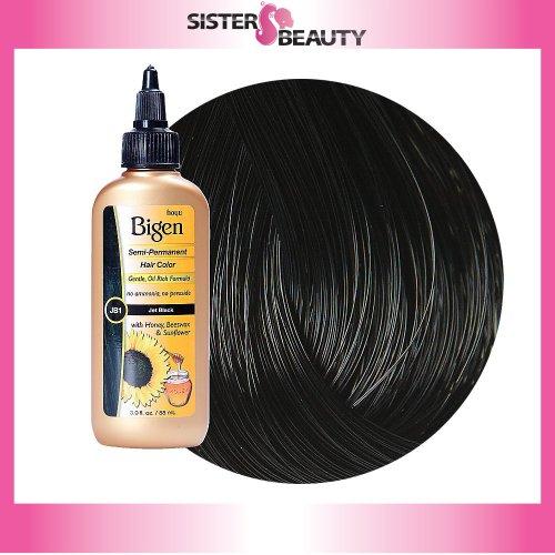 Bigen Semi-Permanent Haircolor #Jb1 Jet Black 3oz