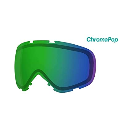 7fa74dbdf6 Smith Optics Phenom Turbo Adult Replacement Lense Snow Goggles Accessories  - Chromapop Everyday Green Mirror