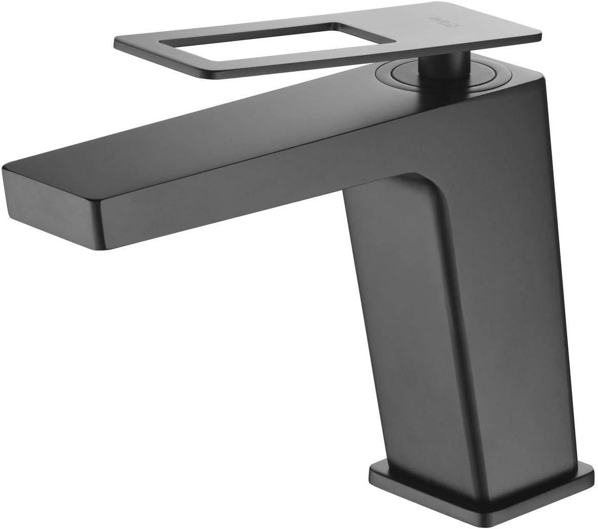 Grifo de lavabo Imex Suecia Negro BDC032-1NG