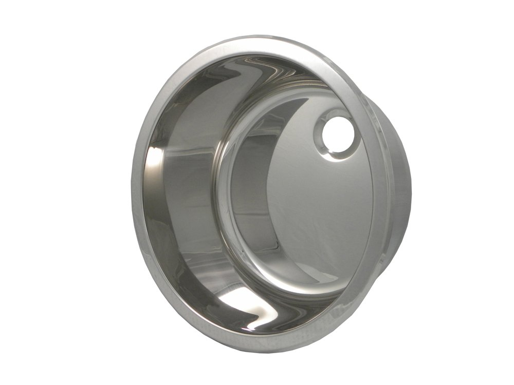 Round 16.1'' Bar Sink Finish: Polished Stainless Steel