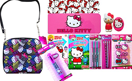 Hello Kitty Back to School Children's Small Cosmetic Bag ...