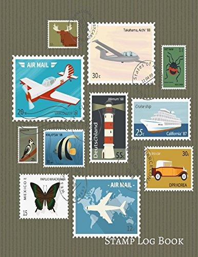 Stamp Log Book: Stamp Log