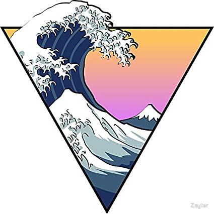 The Great Wave Sticker Vinyl Decal Car Truck Auto Laptop Window Stickers