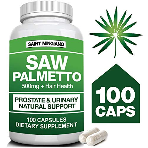 Saw Palmetto Support 500mg – Urinary Support – Hair Health – Natural Herbal Supplements for Better Living