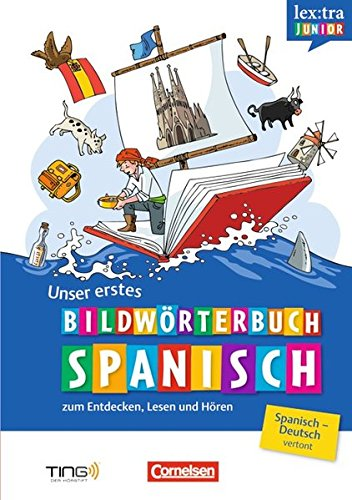 Lextra junior Spanisch: Unser erstes Bildwörterbuch (TING)