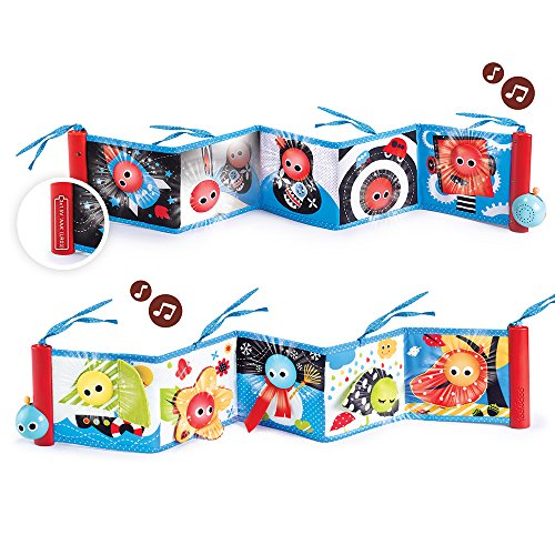 Double Sided Book - Yookidoo Baby's First Book - Lights and Music Soft Double Sided First Book By (0m+)
