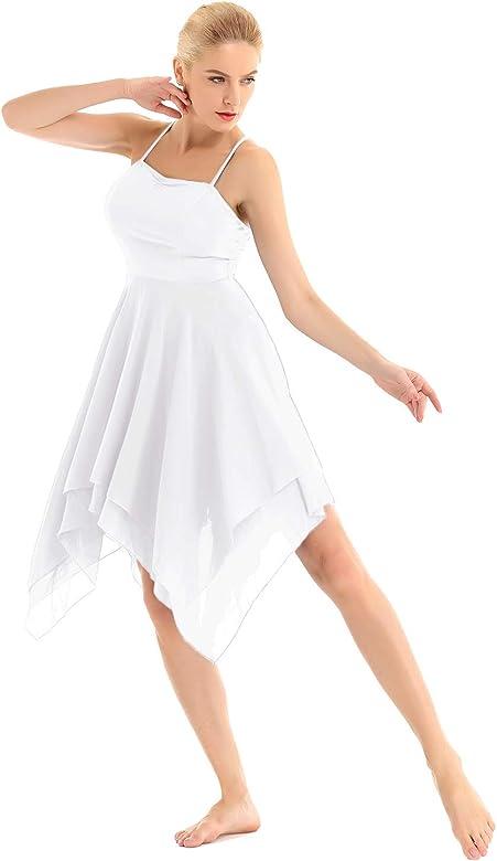 Freebily Vestido de Danza Contemporanea Ballet Mujer Maillots de ...