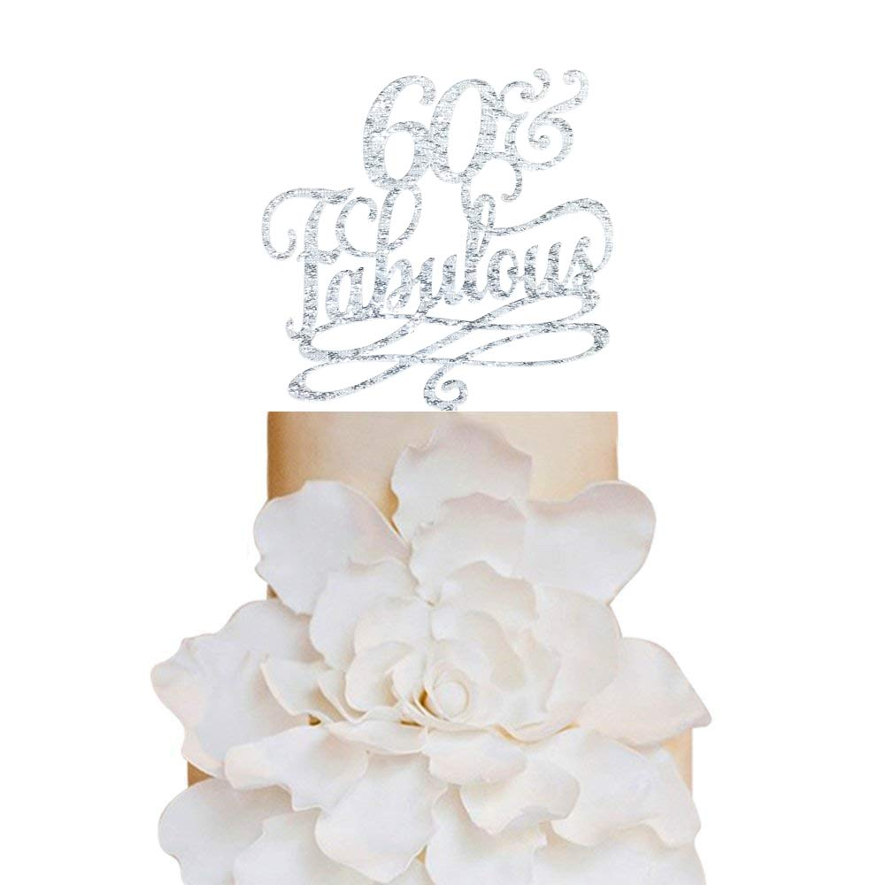 Prime 60 And Fabulous Birthday Cake Topper Classy 60Th Birthday Topper Funny Birthday Cards Online Overcheapnameinfo