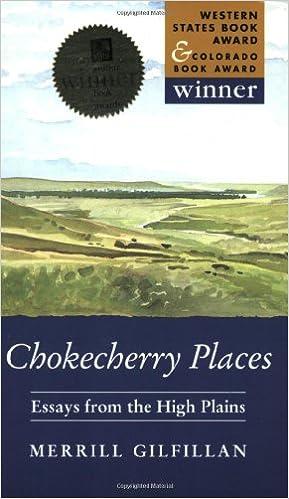 Amazon.com: Chokecherry Places: Essays from the High Plains (9781555662271): Merrill Gilfillan: Books
