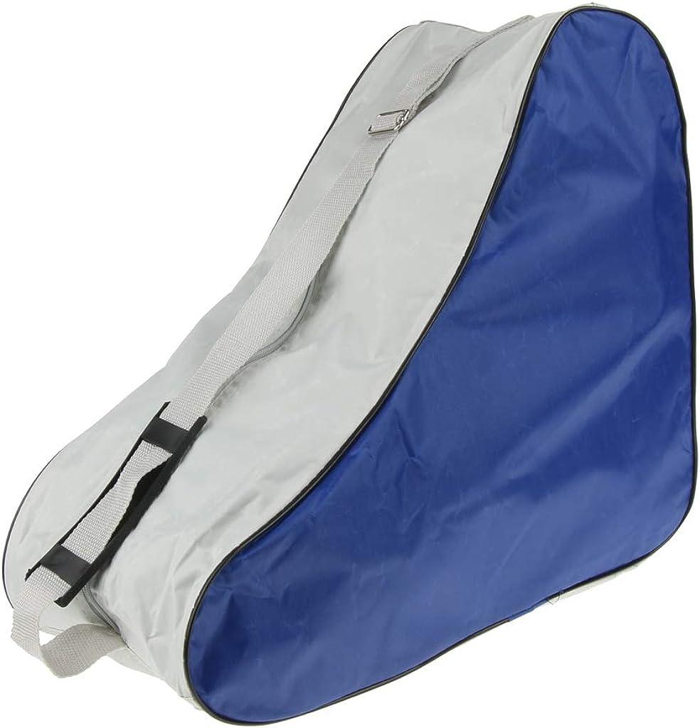 Eforstore Ice Skating Bag Roller Skating Bags Heavy Duty Waterproof Skate Tote with Shoulder Straps Adjustable