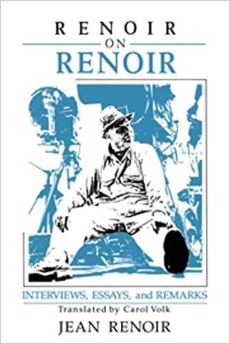 Book Renoir On Renoir : Interviews, Essays, And Remarks Hardback