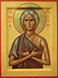 St. Mary of Egypt Traditional Panel Russian Orthodox icon