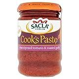 vine tomato - Sacla' Vine-ripened Tomato & Roasted Garlic Paste - 190g (0.42lbs)