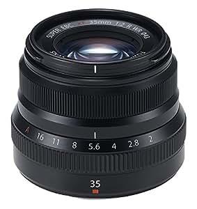 Fujifilm Fujinon Prime Lens XF 35mm F2 R WR, Standard - Black