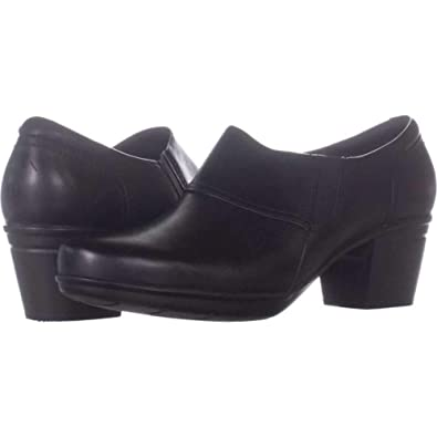 variousstyles lowest discount classcic Amazon.com   CLARKS Womens Emslie Craft Leather Almond Toe ...
