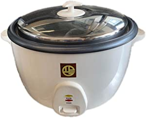 Pantin 50 Cup (25 Cup Raw) Commercial Restaurant Electric Rice Cooker - 120V, 1500W (NSF, UL Listed)