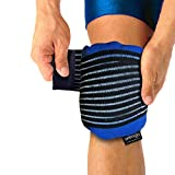 Hot & Cold Gel Pack with Knee Compression Cuff