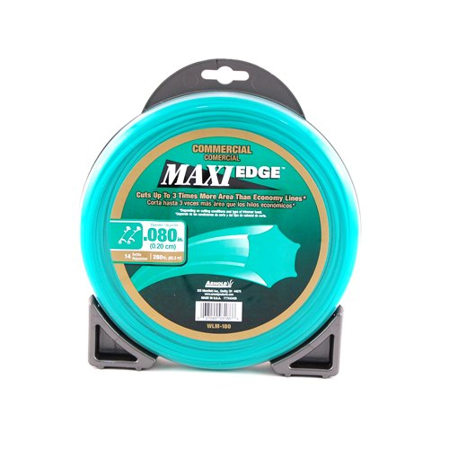 Grade Trimmer Line (Arnold Maxi-Edge .08-Inch x 280-Foot Commercial Grade Trimmer Line)