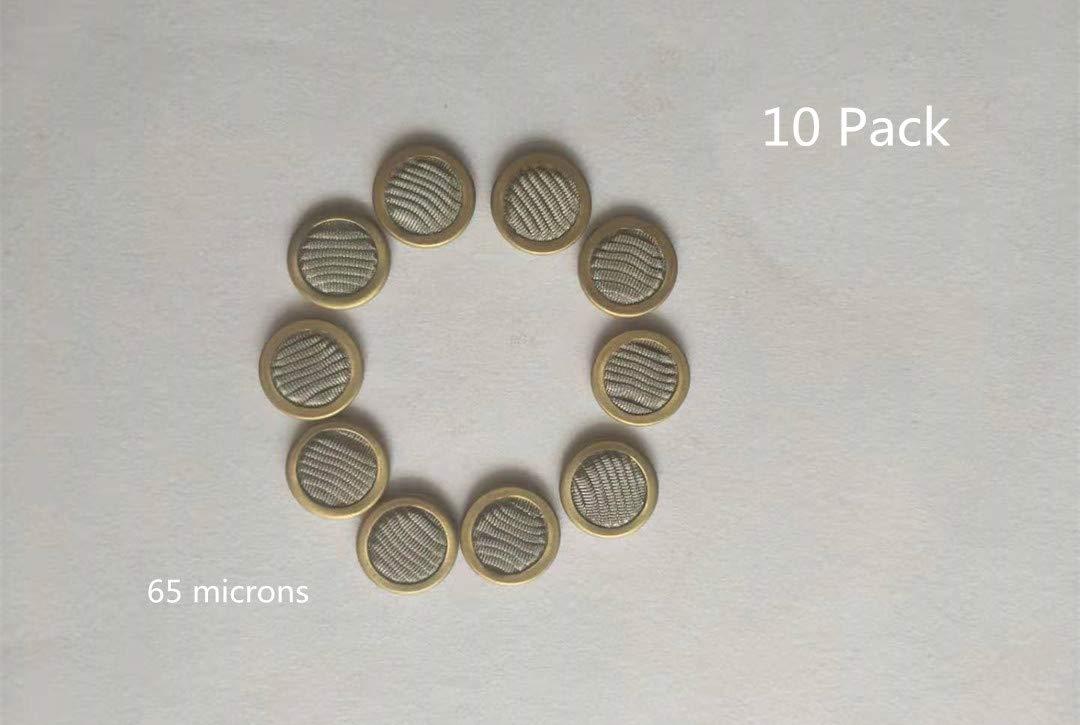 65 microns Aftermarket Moog Servo Valve Filter Disc Assembly 10 Pack