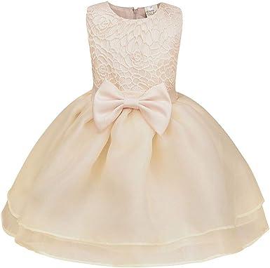 Yiqi Robe Soiree Petite Fille De Princesse Amazon Fr Vetements Et Accessoires