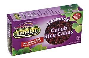Landau Natural Foods: Carob Coated Rice Cakes 5 Oz (12 ...
