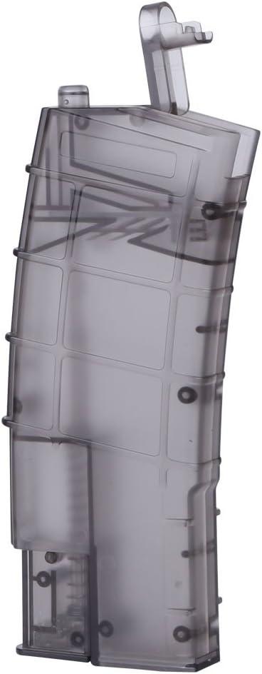 Huenco Mag Airsoft 6mm BB Speed Loader Plastique 500e Tactique Militaire BB Box