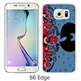 Samsung Galaxy S6 Edge Wu tang Clan White Screen Cellphone Case Genuine and Customized Design