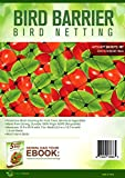 #5: BEST BIRD NETTING 14 x 45 ft Bird Net - Smart Way to Protect Fruit Trees, Bushes & Vegetables from Hungry Birds, Garden Netting Protects Gardens from Chickens & Poultry
