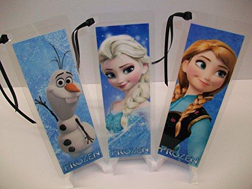 FROZEN Bookmark Set of 3 Collectible Memorabilia complements poster comic book